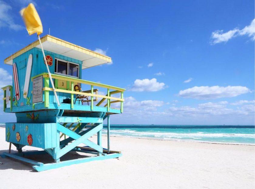 cabane miami beach sauveteur