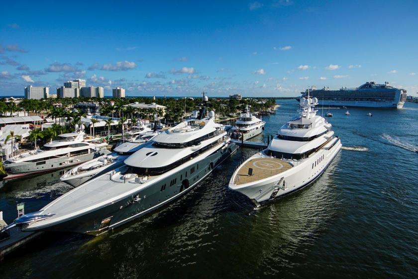 Fort Lauderdale International Boat Show, une expositions de modèles de bateaux démesurée