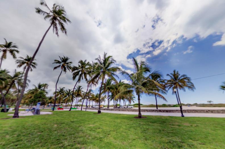 Faire une visite virtuelle de Miami Beach