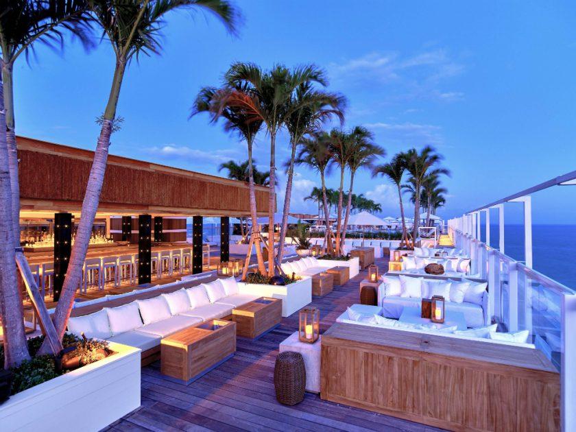 WATR AT THE 1 ROOFTOP Les plus beaux rooftops de Miami