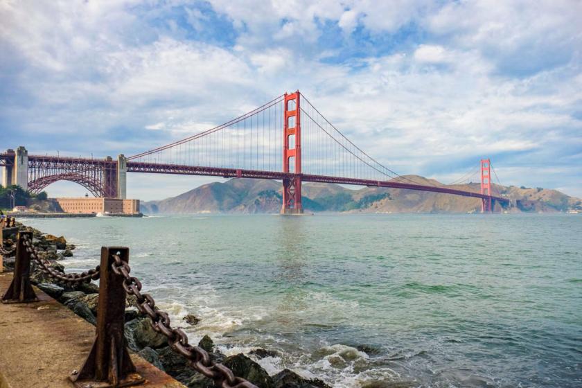 Golden Gate Bridge 10 incontournables de visites à faire à et à voir à San Francisco