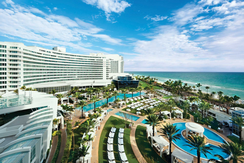 Le Fontainebleau, un hôtel emblématique de Miami Beach