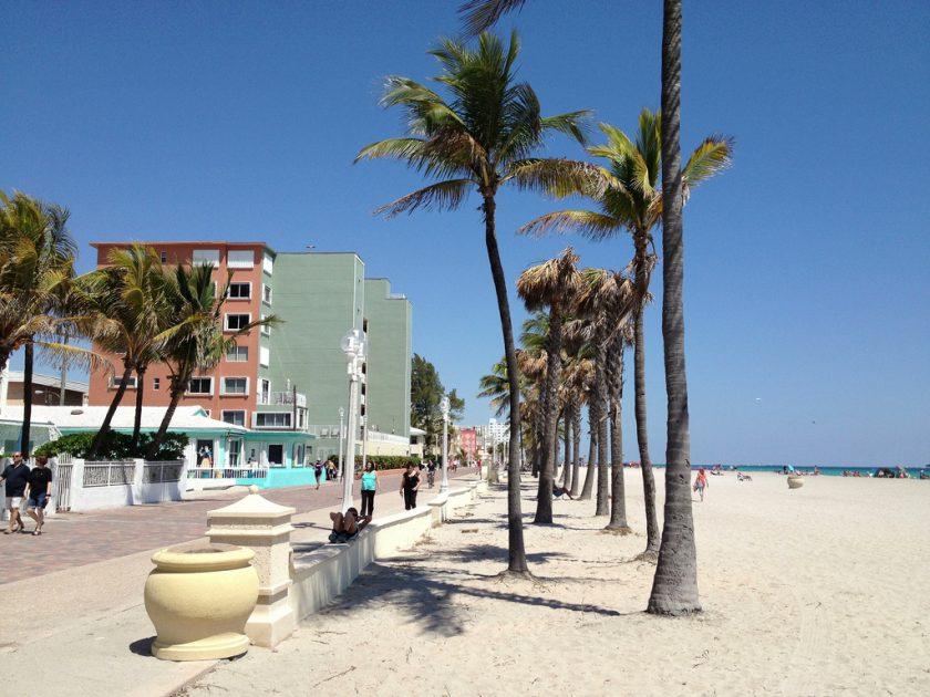 Hollywood Beach Les plus belles plages de Miami