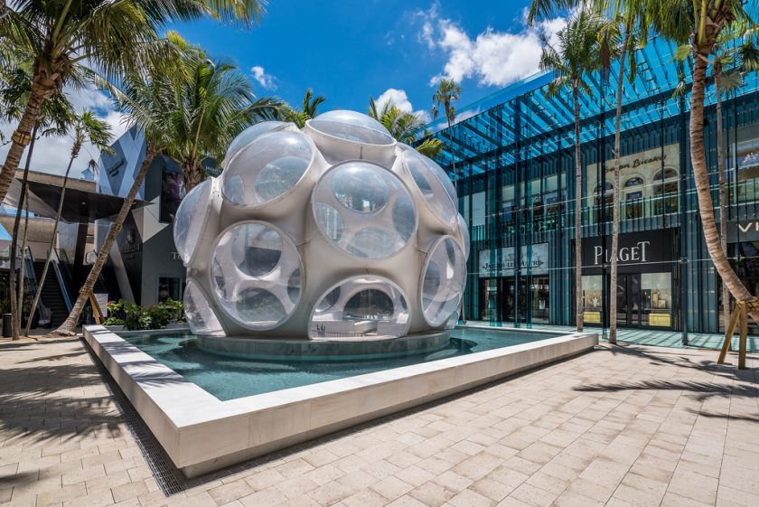 Miami Design District shopping magasins