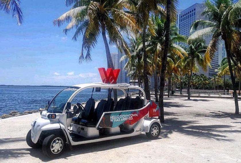 freebee miami electrique voiture