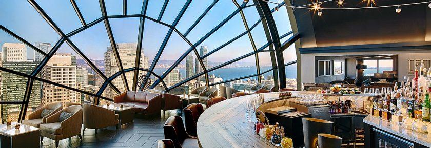 The View l'un des meilleurs bars avec vue de San Francisco à découvrir lors d'une visite de San Francisco