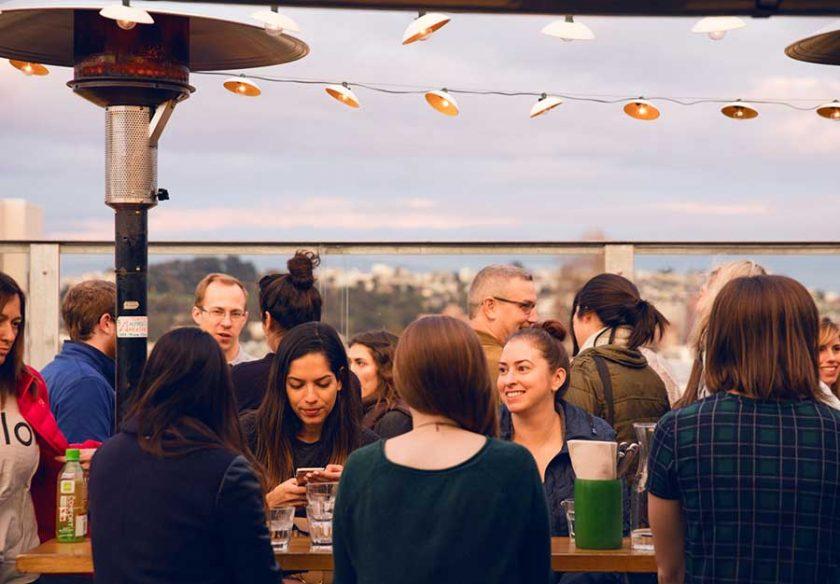 El Techo l'un des meilleurs bars avec vue de San Francisco à découvrir lors d'une visite de San Francisco