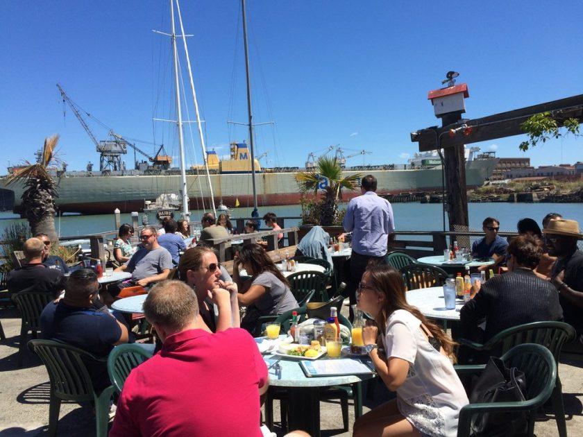 The Ramp l'un des meilleurs bars avec vue de San Francisco à découvrir lors d'une visite de San Francisco