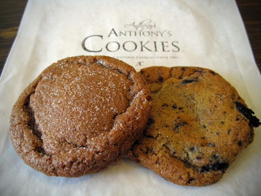 Anthony's Cookies l'un des meilleurs cookies de San Francisco