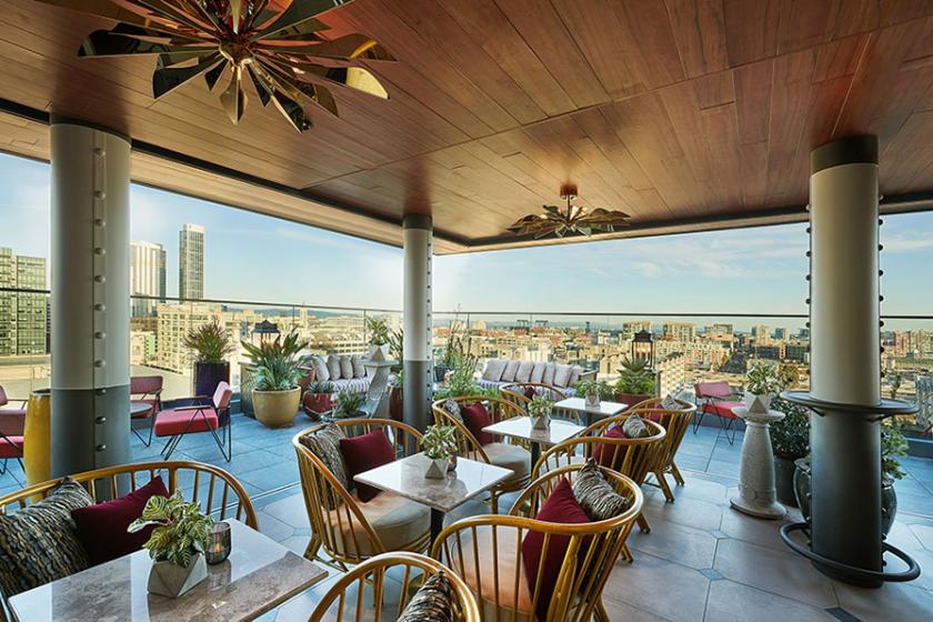 Everdene, un rooftop branché avec une vue imprenable sur San Francisco