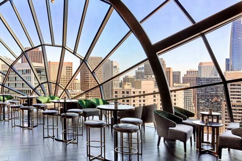 The View Lounge, un rooftop avec une vue saisissante sur San Francisco