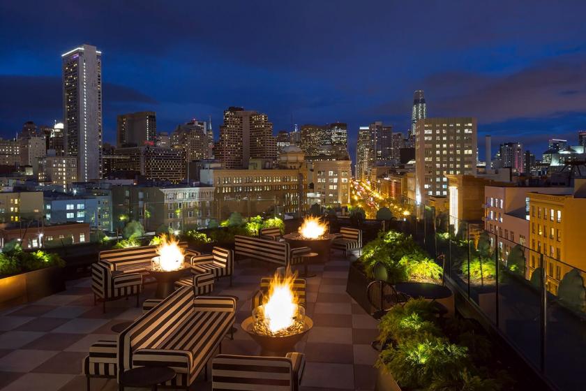 Charmaine's, un rooftop à San Francisco