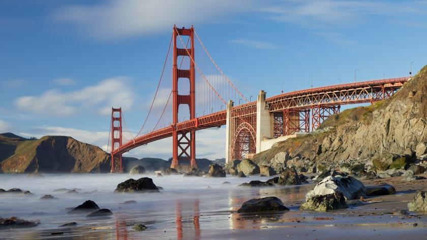 Mashall's beach l'une des plus belles plages à découvrir lors d'une visite l'été à San Francisco