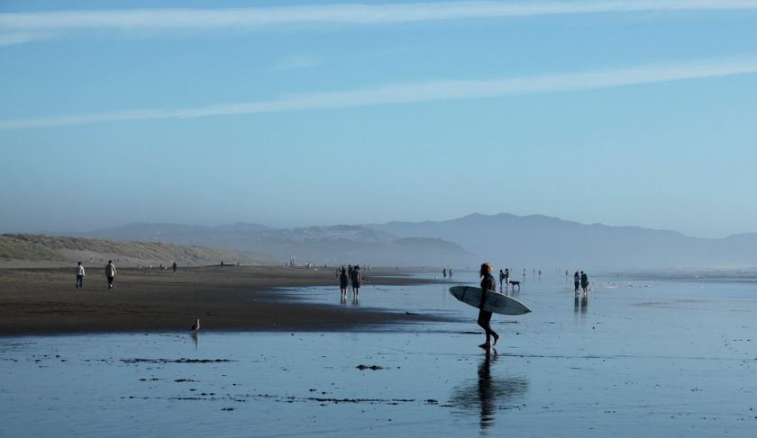 Ocean Beach l'une des plus belles plages et spot de surf à San Francisco