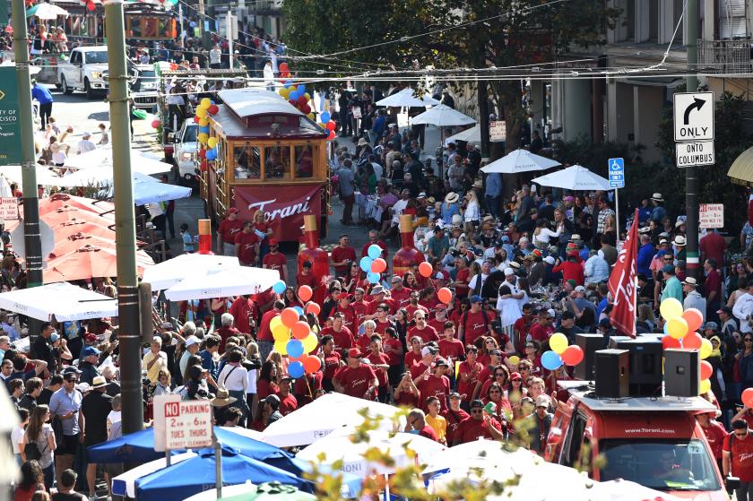 The San Francisco Italian Heritage Parade