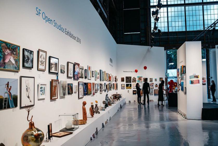 SF open studio à Artspan San Francisco