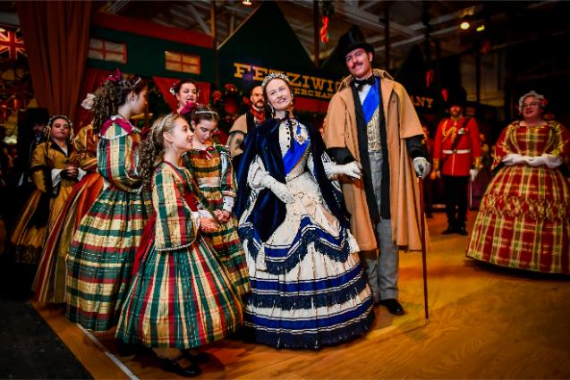 The Great Dickens Christmas Fair à San Francisco