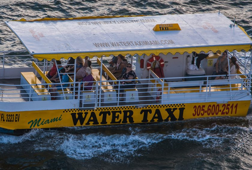 Watertaxi se déplacer miami