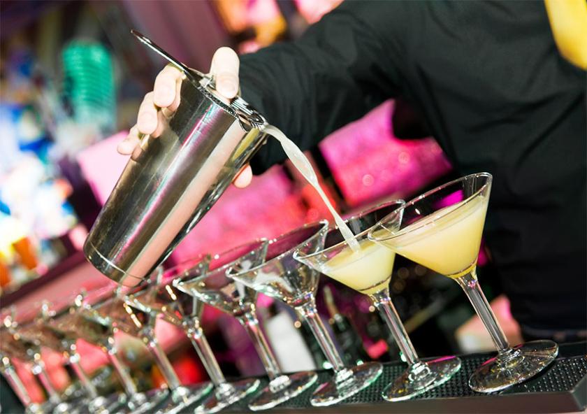 pourboires bars